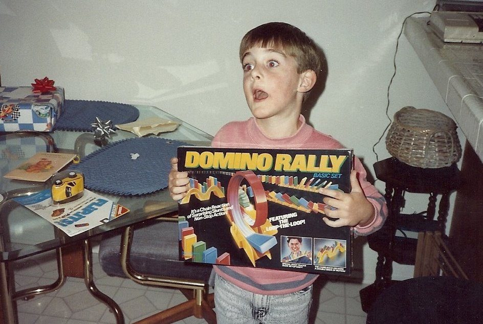 Excited About Domino Rally Present